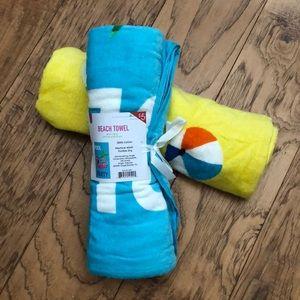 NWT Beach Towel Bundle x2